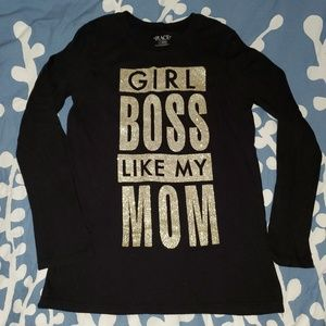 Long sleeve girl's t-shirt